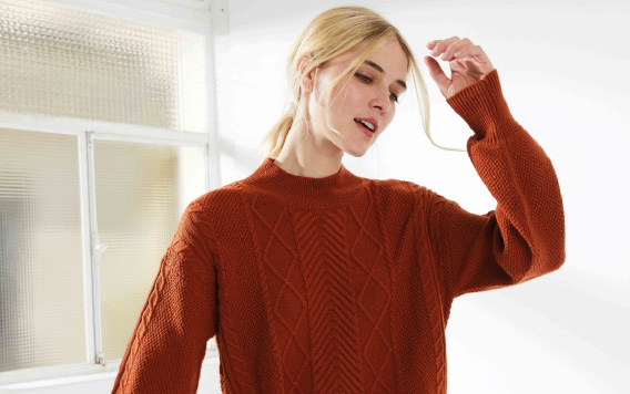 KNITWEAR AND CARDIGANS